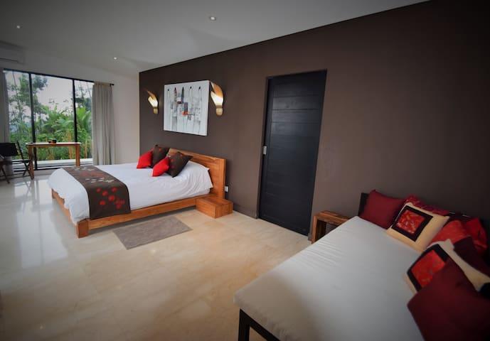 Villa Capricia Chambre ALMAS - Tegallalang  - Bed & Breakfast