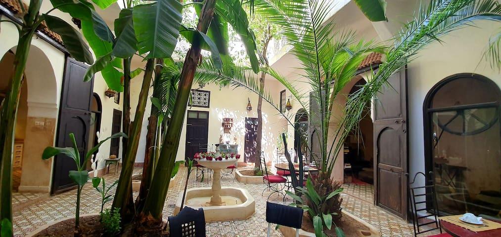 Sonia double or twin room, Riad Dar Tayib
