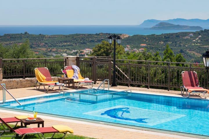 Villa Harmony, Meerblick und nahe dem Strand