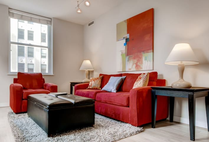 Luxurious 2 Bedroom Washington DC Apt!