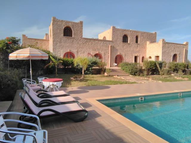 Sud d'Agadir Calme/Confort à la  Campagne Piscine