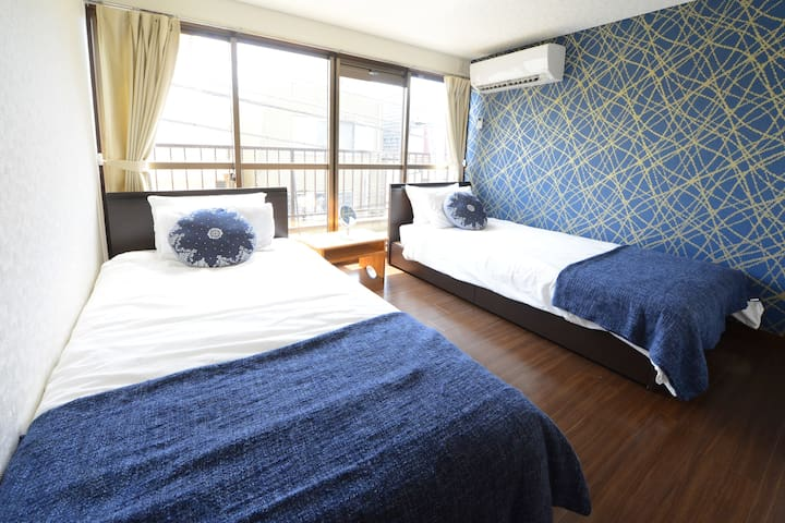 Spacious House w/2showers&4BR◎Skytree and Asakusa