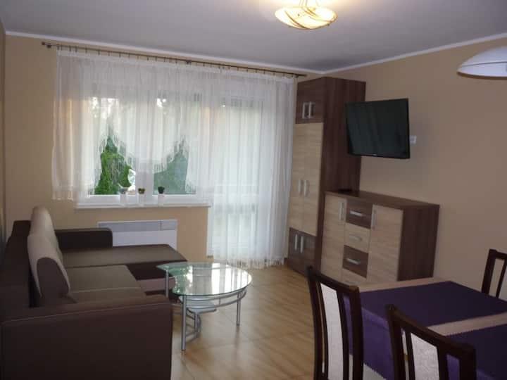 Apartament Krynica Morska morze las /Baltic Sea