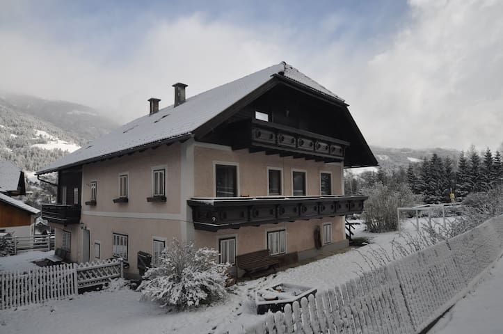 Chalet Mur in the snow - Winter 2016