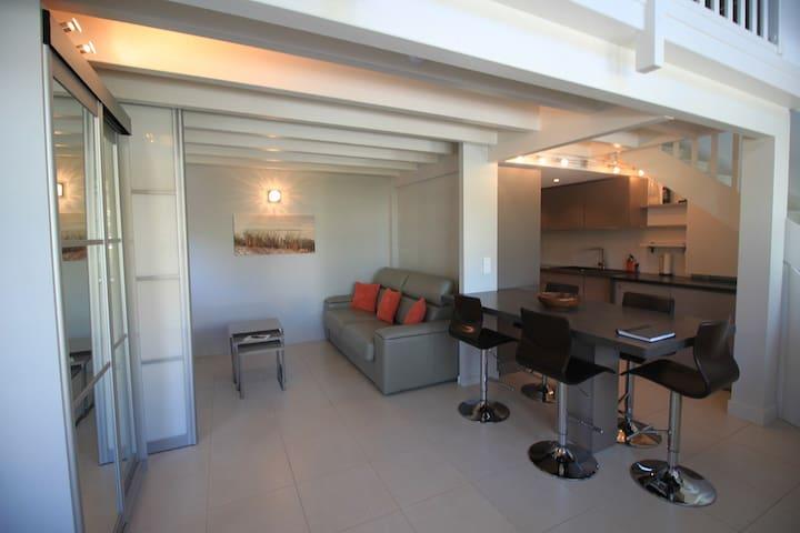 Appartement MOULLEAU 100M de la plage