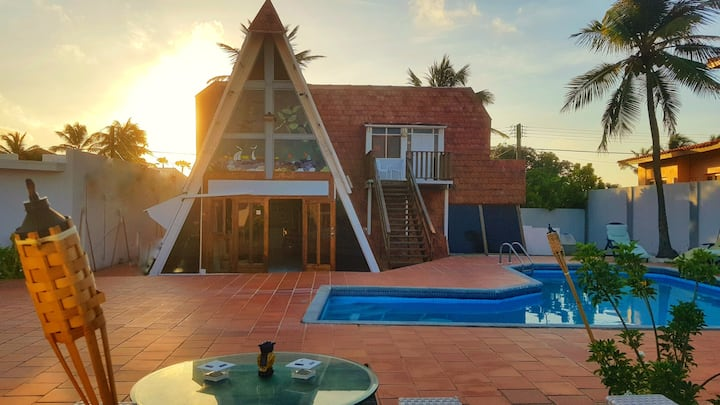 The Roof Villa | Private pool | Sleeps 4 guest