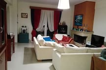 Living room winter look