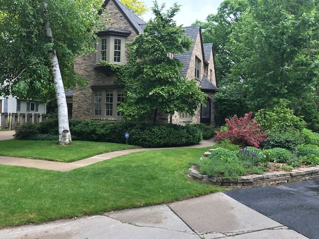 Historic brick home near Lawrence University