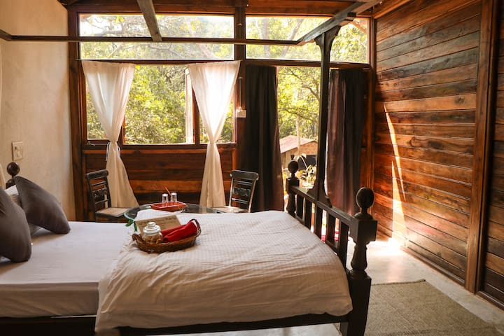 Jungle View Wooden Cottage - 7% OFF on 2 Nights