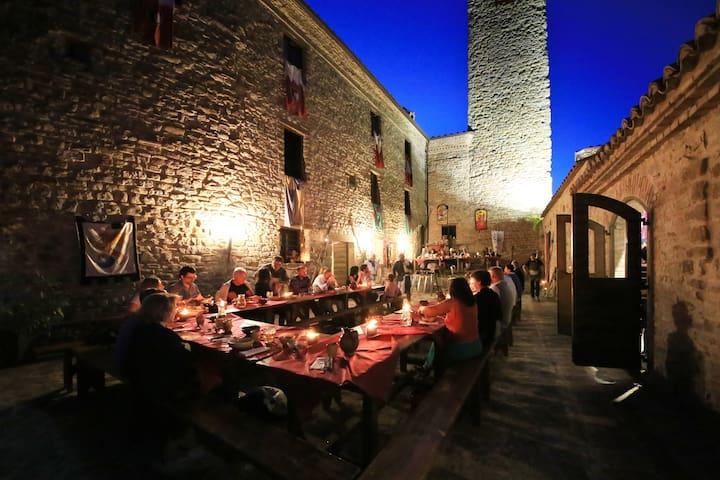 Assisi Gubbio Giomici Castle Suite 5 Persons