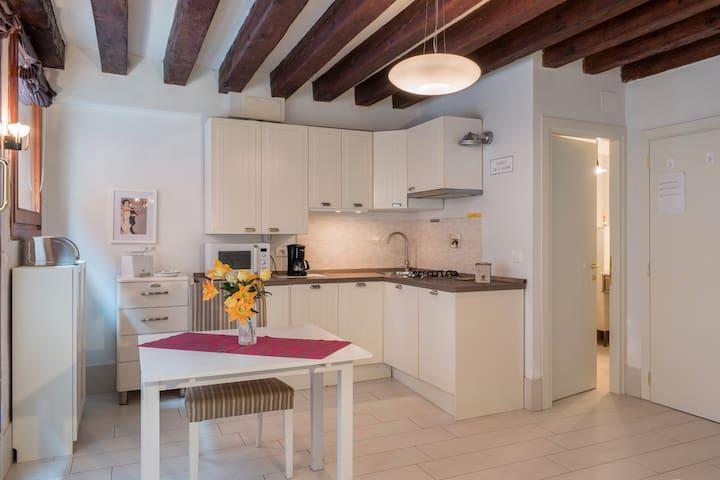 Cà Molin, appartamento con affaccio sul canale