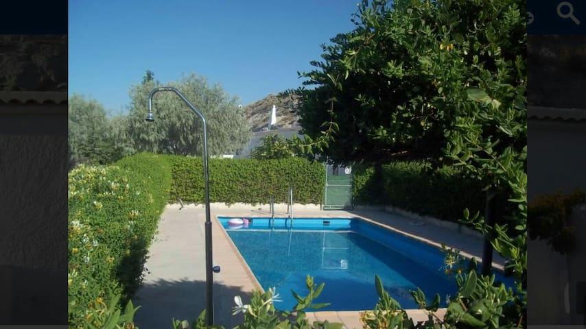 Casa cueva con piscina - Baza - Apartamento