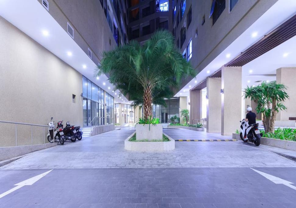Outsibe lobby