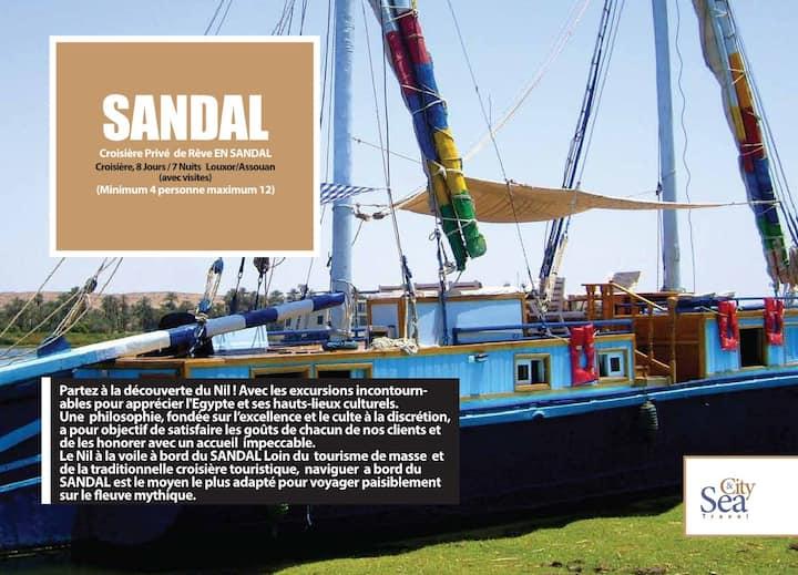 CROISIERE EN SANDAL ESNA ASWAN 6 NUITS EN AVANTURE