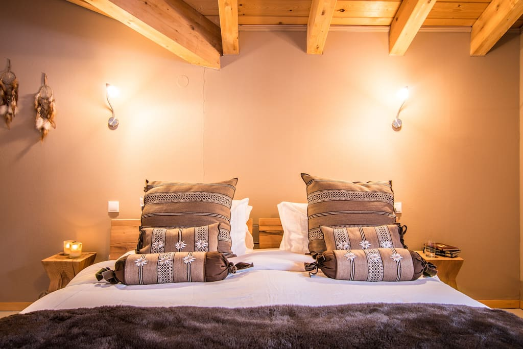 Double Bedroom - the Brown Room