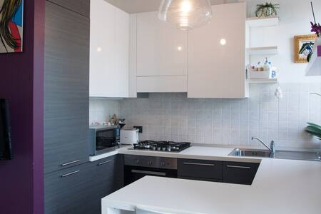 Two Bed Modern 1 minute Vernavola Park - Pavia - Appartement