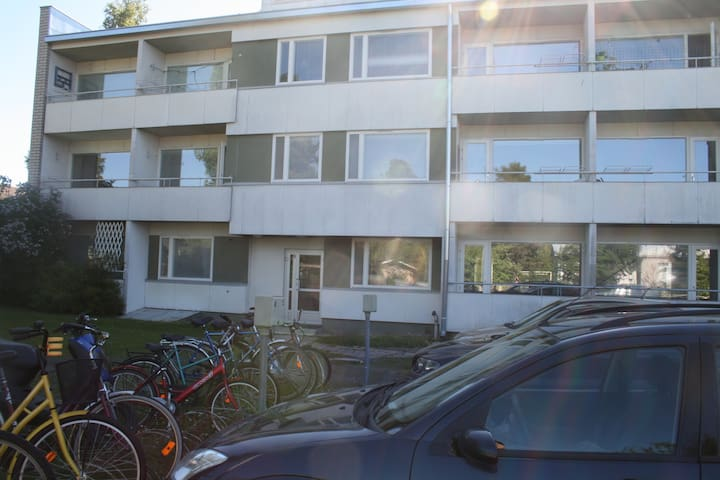 Forenom Two-bedroom apartment (with balcony) in Rauma