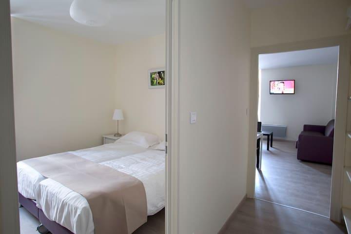 Appartement 2 pièces centre ville - Nuits-Saint-Georges