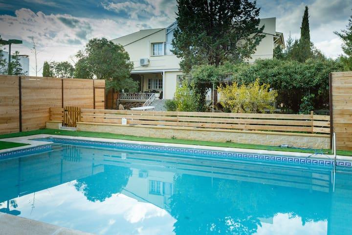 Villa Campiña. Especial para grupos y familias.