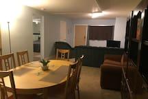 Dining Room & Living Room 1