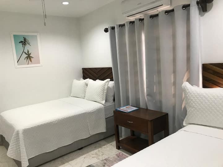 La Casa de Paz 303. Bedroom with private bathroom