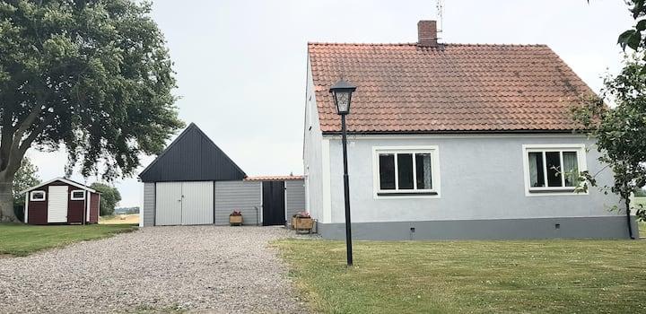 Trevligt hus utanför Ystad