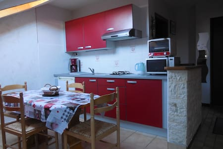 Bel appartement - 4 pers - au village- wifi - La Pesse - Apartemen