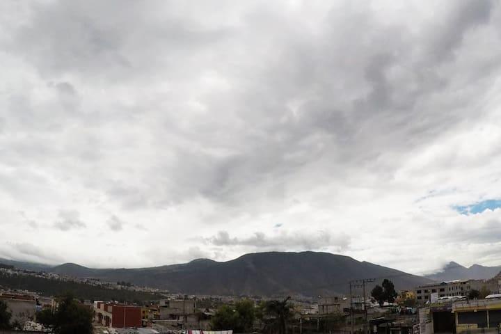 Linda casa ecuatoriana