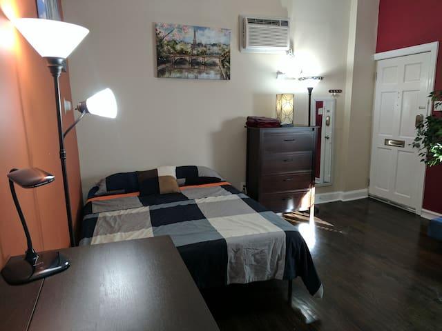 Cozy Studio -- Heart of Philadelphia - Filadélfia - Apartamento