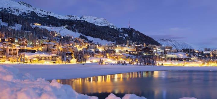 Appartamento a St. Moritz con 2 camere da letto