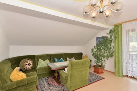 Flat with balcony in the Upper Bavarian Forest Nature Park