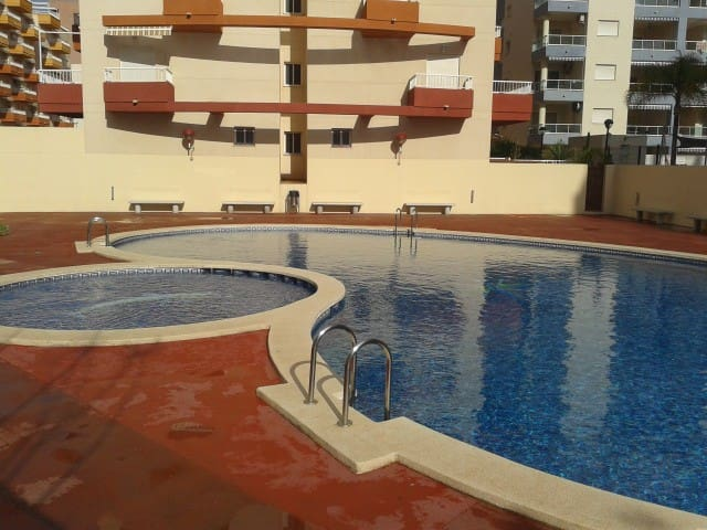 VALENCIA BEACH CANET APTO. PRIVATE 2 ROOMS - Canet d'en Berenguer - Appartamento