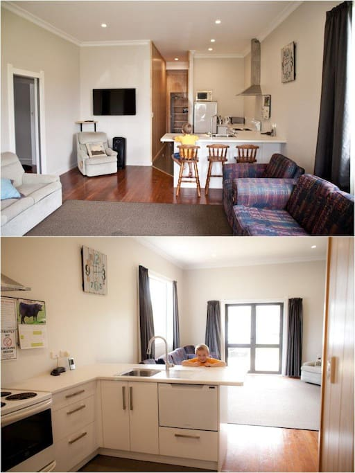 Downstairs Kitchen / Living
