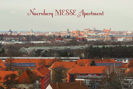 Panoramic whole flat near Messe - Nuremberg