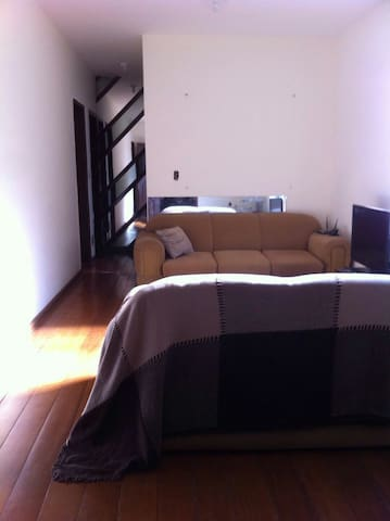 Quarto individual em cobertura do Concórdia - Belo Horizonte - Apartemen