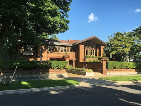 The Amberg House - un Frank Lloyd Wright originale