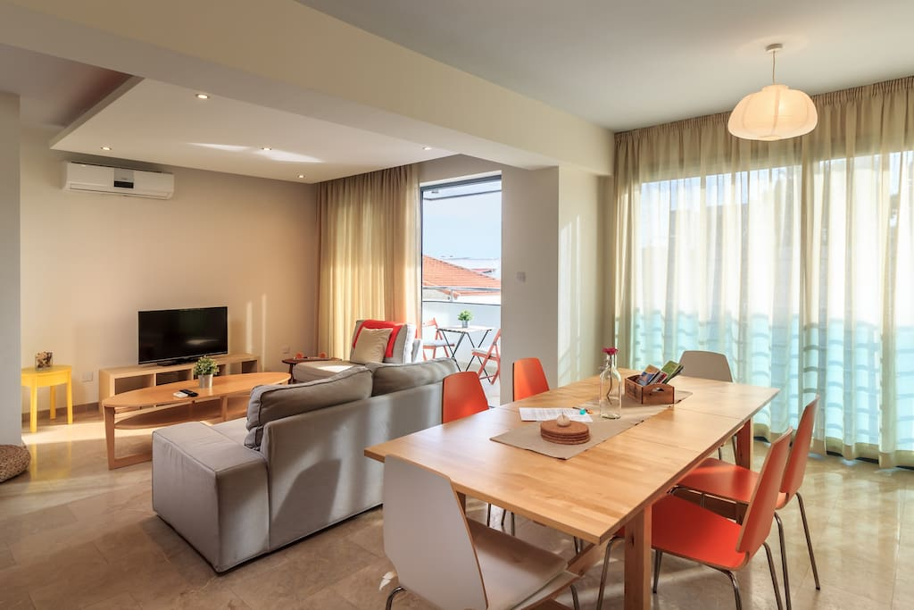 First Floor | Open Plan Kitchen-Dining-Living Room Space