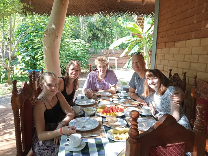 Sandalwood Cottage(FAMILY CHALET-01) Udawalawa