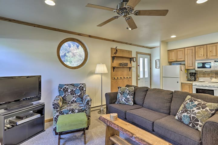 NEW! Cozy Living in Ouray, 1 Block Walk to Main St
