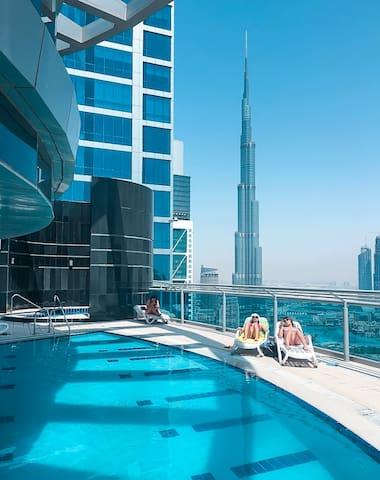 One bedroom apt close to downtown & Burj Khalifa