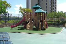 Rec deck play area.