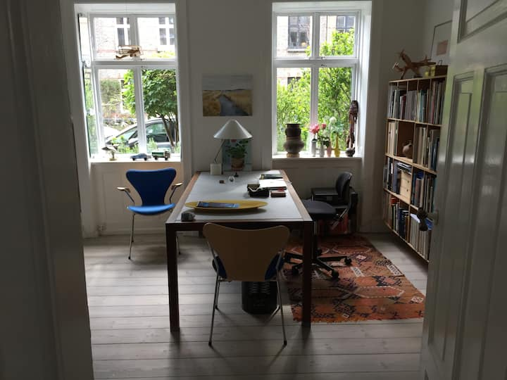 Lovely flat in the center of Copenhagen.