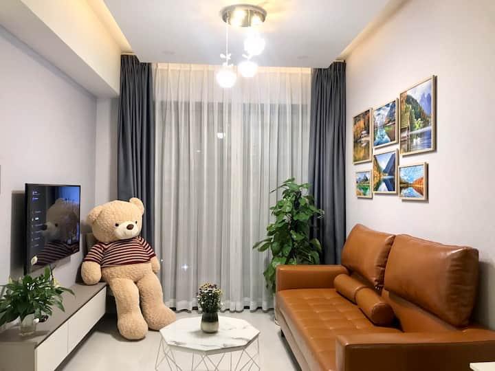 Private bedroom in share apartment - Masteri AnPhu