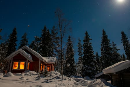 Villa Rauha - Holiday villa in Finnish Lapland