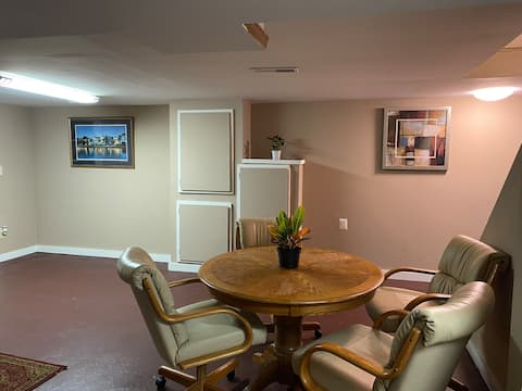 Entire Apt. in a secluded, peaceful neighborhood!