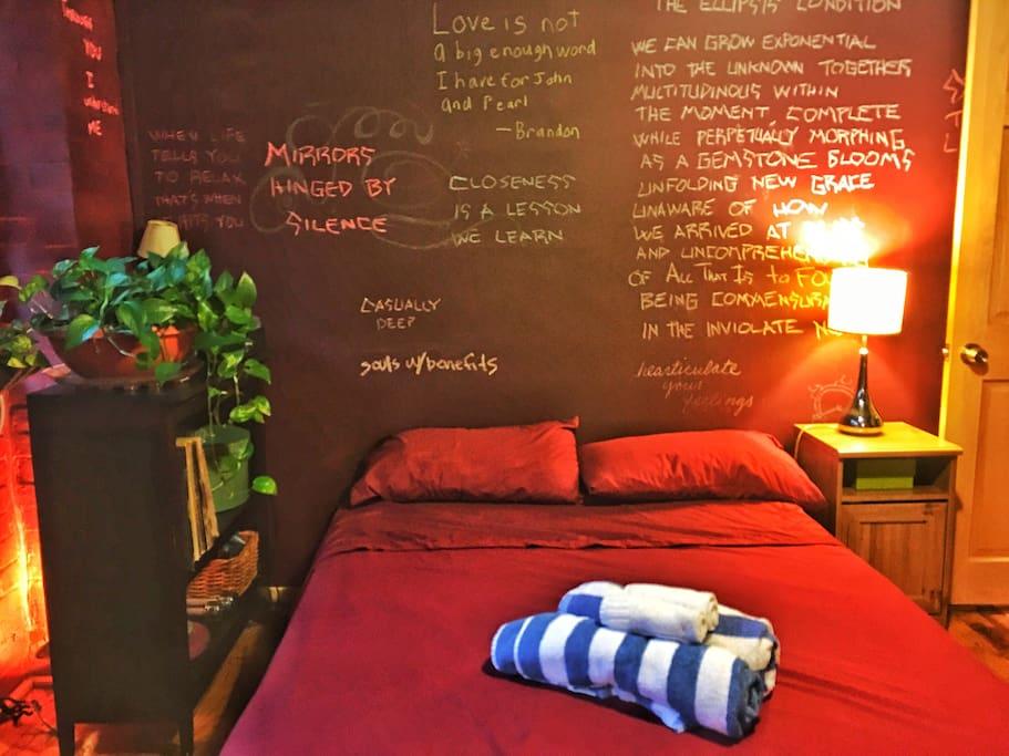 [the bedroom]