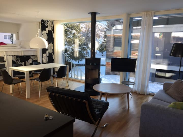 Modern apartment in the centre of Andermatt