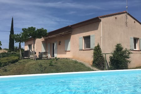 Villa avec piscine pour se ressourcer