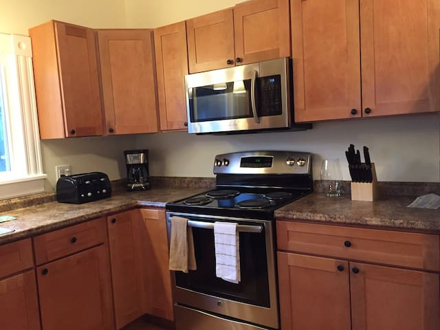 Spacious Downtown Apartment - Greenfield - Leilighet