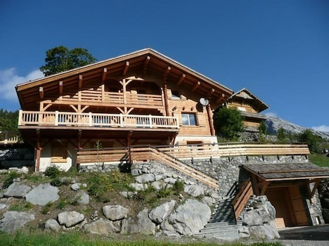 Beautiful chalet in the mountains for 18 persons - Le Grand Bornand - House